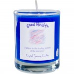Good Health Soy Glass Votive Spell Candle