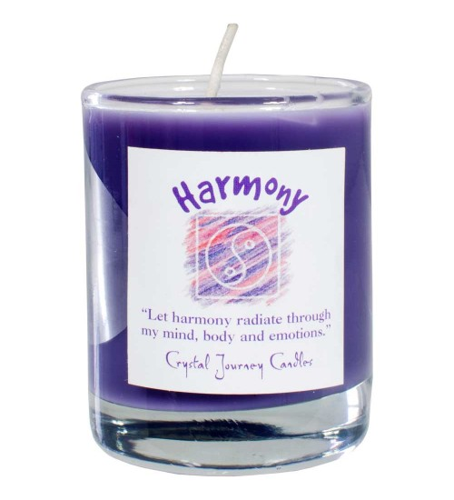 Harmony Soy Glass Votive Spell Candle at All Wicca Magickal Supplies, Wiccan Supplies, Wicca Books, Pagan Jewelry, Altar Statues