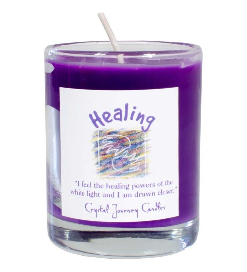 Healing Soy Glass Votive Spell Candle at All Wicca Store Magickal Supplies, Wiccan Supplies, Wicca Books, Pagan Jewelry, Altar Statues