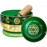 Heart Chakra Small Singing Bowl Set
