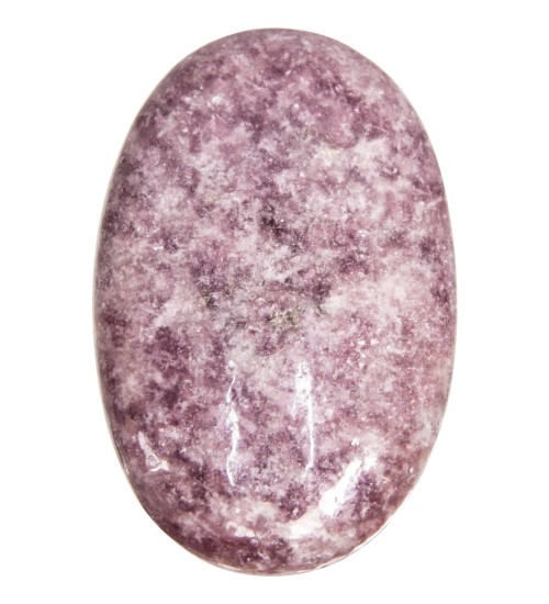 Lepidolite Palm Stone for Peace and Emotional Balance at All Wicca Store Magickal Supplies, Wiccan Supplies, Wicca Books, Pagan Jewelry, Altar Statues