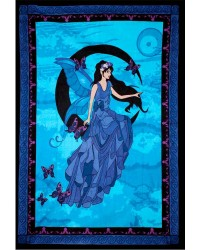 Moon Fairy Tapestry All Wicca Store Magickal Supplies Wiccan Supplies, Wicca Books, Pagan Jewelry, Altar Statues