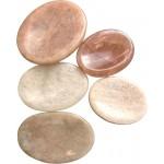 Moonstone Worry Stone
