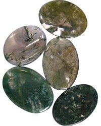 Moss Agate Worry Stone All Wicca Magickal Supplies Wiccan Supplies, Wicca Books, Pagan Jewelry, Altar Statues