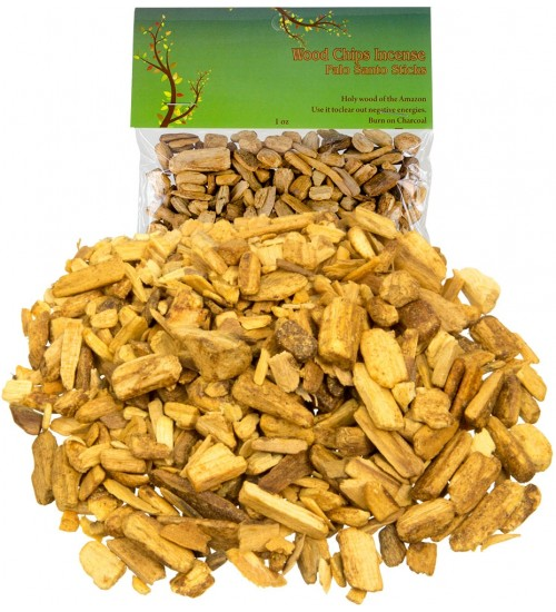 Palo Santo Wood Incense Chips - 1 oz