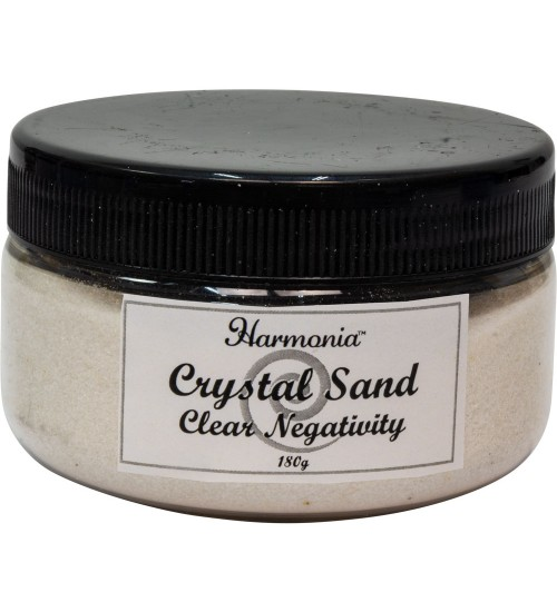 Crystal Clear Quartz Gemstone Sand to Clear Negativity at All Wicca Store Magickal Supplies, Wiccan Supplies, Wicca Books, Pagan Jewelry, Altar Statues