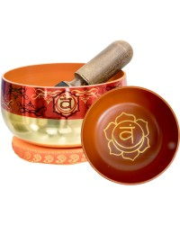 Sacral Chakra Small Singing Bowl Set All Wicca Store Magickal Supplies Wiccan Supplies, Wicca Books, Pagan Jewelry, Altar Statues
