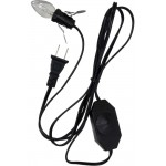Salt Lamp Replacement White Power Cord with Switch