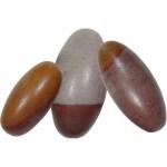 Shiva Lingam Stone - Set of 6 1.5 Inch Sacred Stones