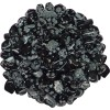 Snow Flake Obsidian Tumbled Stones - 1 Pound Pack at All Wicca Store Magickal Supplies, Wiccan Supplies, Wicca Books, Pagan Jewelry, Altar Statues