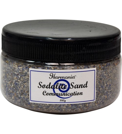 Sodalite Gemstone Sand for Communications at All Wicca Store Magickal Supplies, Wiccan Supplies, Wicca Books, Pagan Jewelry, Altar Statues