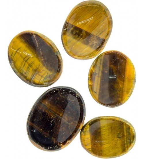Tigers Eye Worry Stone at All Wicca Store Magickal Supplies, Wiccan Supplies, Wicca Books, Pagan Jewelry, Altar Statues