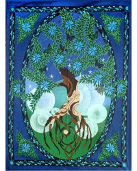Tree of Life Tapestry All Wicca Store Magickal Supplies Wiccan Supplies, Wicca Books, Pagan Jewelry, Altar Statues