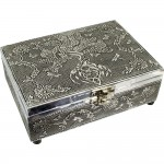 Tree of Life Embossed Metal Box