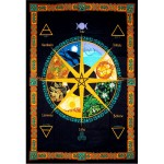 Wheel of the Year Calendar Tapestry