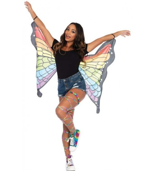 Rainbow Mini Butterfly Festival Wings at All Wicca, Wiccan Altar Supplies, All Wicca Books, Pagan Jewelry, Wiccan Statues