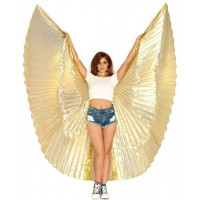 Isis Pleated Festival Wings