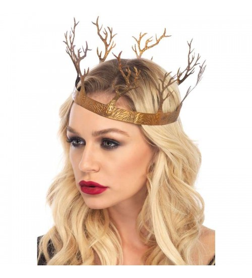 Golden Forest Crown at All Wicca Store Magickal Supplies, Wiccan Supplies, Wicca Books, Pagan Jewelry, Altar Statues