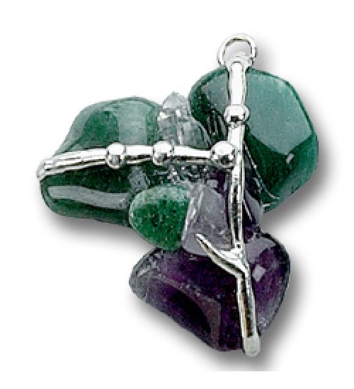 Healing Gemstone Amulet at All Wicca Store Magickal Supplies, Wiccan Supplies, Wicca Books, Pagan Jewelry, Altar Statues