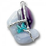 Expression Gemstone Magical Amulet