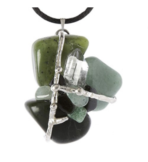 Good Luck Gemstone Magical Amulet at All Wicca Store Magickal Supplies, Wiccan Supplies, Wicca Books, Pagan Jewelry, Altar Statues