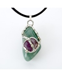 Air Gemdrop Silver Crystal Pendant All Wicca Magickal Supplies Wiccan Supplies, Wicca Books, Pagan Jewelry, Altar Statues
