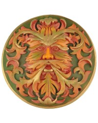 Green Man Autumn Plaque All Wicca Store Magickal Supplies Wiccan Supplies, Wicca Books, Pagan Jewelry, Altar Statues