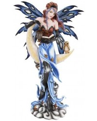 Crescent Moon Fairy Statue All Wicca Store Magickal Supplies Wiccan Supplies, Wicca Books, Pagan Jewelry, Altar Statues