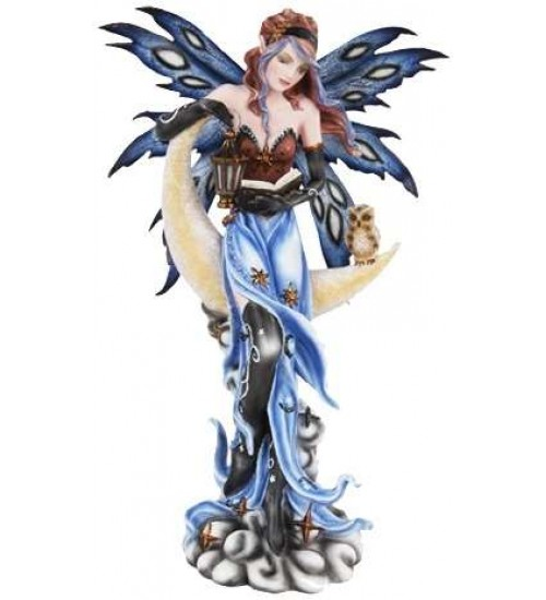 Crescent Moon Fairy Statue at All Wicca Store Magickal Supplies, Wiccan Supplies, Wicca Books, Pagan Jewelry, Altar Statues