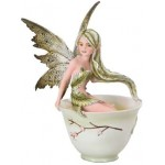 Green Tea Fairy Statue