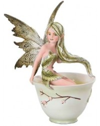 Green Tea Fairy Statue All Wicca Store Magickal Supplies Wiccan Supplies, Wicca Books, Pagan Jewelry, Altar Statues