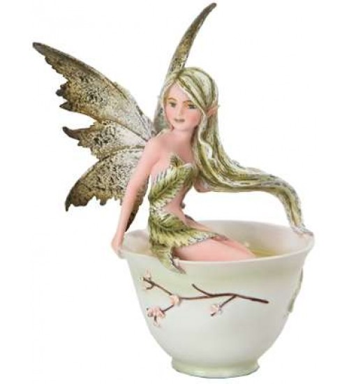 Green Tea Fairy Statue at All Wicca Store Magickal Supplies, Wiccan Supplies, Wicca Books, Pagan Jewelry, Altar Statues