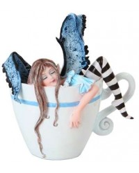I Need Coffee Fairy Statue All Wicca Store Magickal Supplies Wiccan Supplies, Wicca Books, Pagan Jewelry, Altar Statues