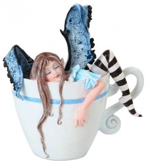 I Need Coffee Fairy Statue at All Wicca Store Magickal Supplies, Wiccan Supplies, Wicca Books, Pagan Jewelry, Altar Statues