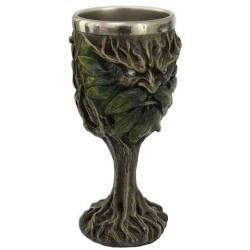 Greenman, Lord of the Forest Wiccan Altar Chalice All Wicca Wiccan Altar Supplies, Books, Jewelry, Statues