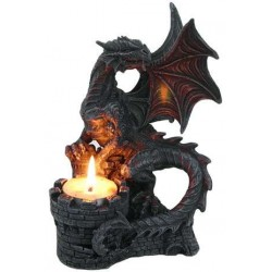 Dragon Candle Holder All Wicca Wiccan Altar Supplies, All Wicca Books, Pagan Jewelry, Wiccan Statues