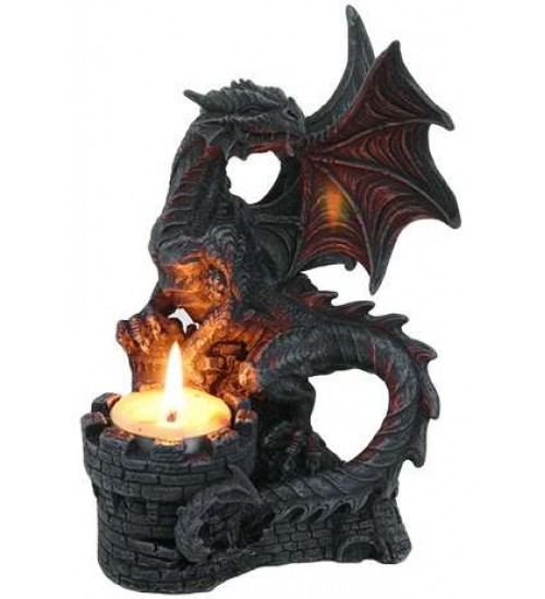 Dragon Candle Holder at All Wicca Magickal Supplies, Wiccan Supplies, Wicca Books, Pagan Jewelry, Altar Statues