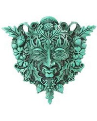 Greenman Plaque All Wicca Store Magickal Supplies Wiccan Supplies, Wicca Books, Pagan Jewelry, Altar Statues