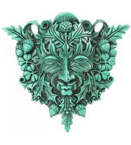Greenman Plaque at All Wicca Store Magickal Supplies, Wiccan Supplies, Wicca Books, Pagan Jewelry, Altar Statues