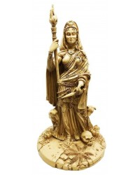 Hecate Greek Goddess of the Crossroads Bone Resin Statue All Wicca Store Magickal Supplies Wiccan Supplies, Wicca Books, Pagan Jewelry, Altar Statues