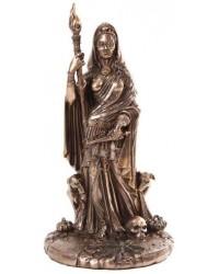 Hecate Greek Goddess of the Crossroads Bronze Resin Statue All Wicca Store Magickal Supplies Wiccan Supplies, Wicca Books, Pagan Jewelry, Altar Statues