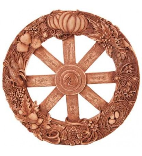 Pagan Wheel of the Year Wall Plaque at All Wicca Store Magickal Supplies, Wiccan Supplies, Wicca Books, Pagan Jewelry, Altar Statues