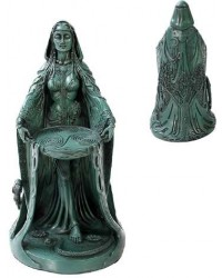Danu Celtic Goddess Resin Statue All Wicca Store Magickal Supplies Wiccan Supplies, Wicca Books, Pagan Jewelry, Altar Statues