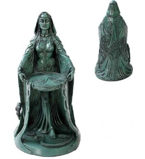 Danu Celtic Goddess Resin Statue at All Wicca Store Magickal Supplies, Wiccan Supplies, Wicca Books, Pagan Jewelry, Altar Statues