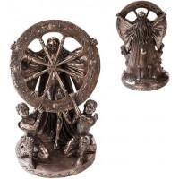 Arianrhod Wheel of the Year Bronze Statue