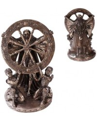 Arianrhod Wheel of the Year Bronze Statue All Wicca Magickal Supplies Wiccan Supplies, Wicca Books, Pagan Jewelry, Altar Statues
