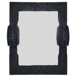 Celtic Dragon Wall Mirror All Wicca Wiccan Altar Supplies, All Wicca Books, Pagan Jewelry, Wiccan Statues