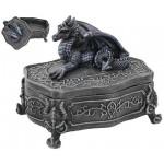 Purple Dragon Gothic Trinket Box