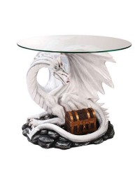 Dragon Treasure Glass Top Accent Table All Wicca Store Magickal Supplies Wiccan Supplies, Wicca Books, Pagan Jewelry, Altar Statues