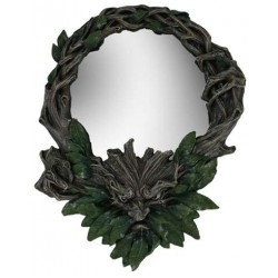 Greenman Wall Mirror All Wicca Wiccan Altar Supplies, All Wicca Books, Pagan Jewelry, Wiccan Statues